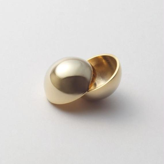25mm sphere pierce (gold)