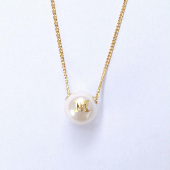 "Inicial necklace ""M"""