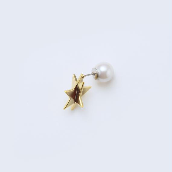 star pierce (cubic star / gold)