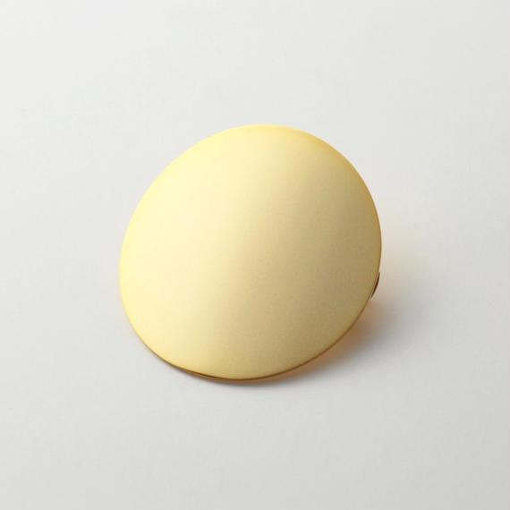 moon hair jewelry (60mm moon/ mat gold)