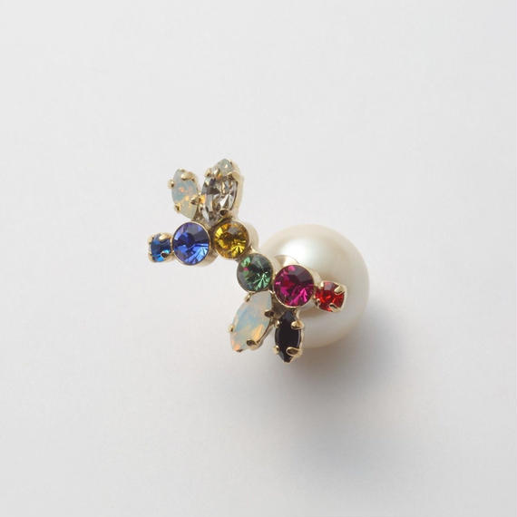 bijoux pierce (crystal / large /multi color)