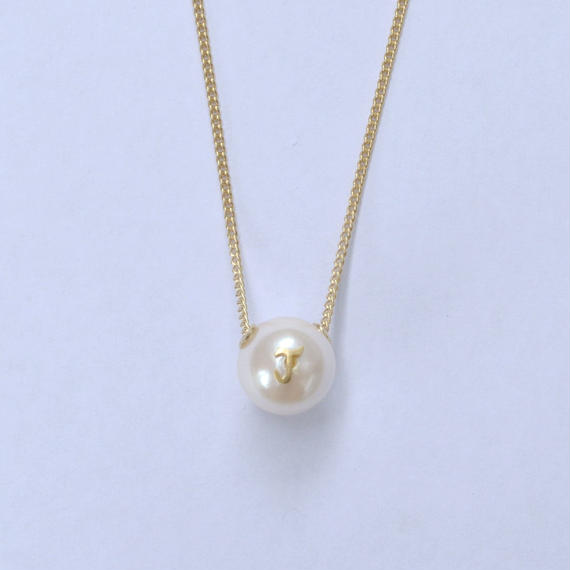 "Inicial necklace ""J"""