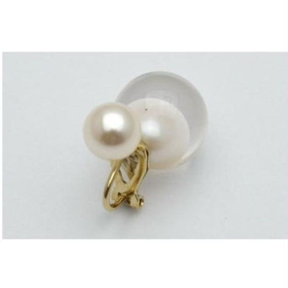 inclusion earing(white inclusion catch)