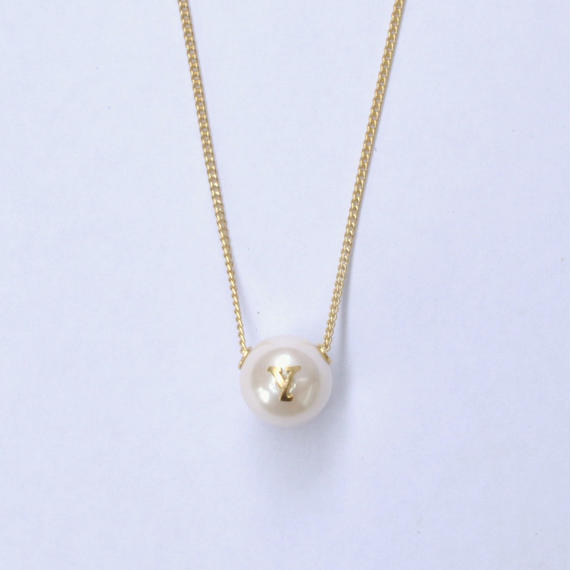 "Inicial necklace ""Y"""