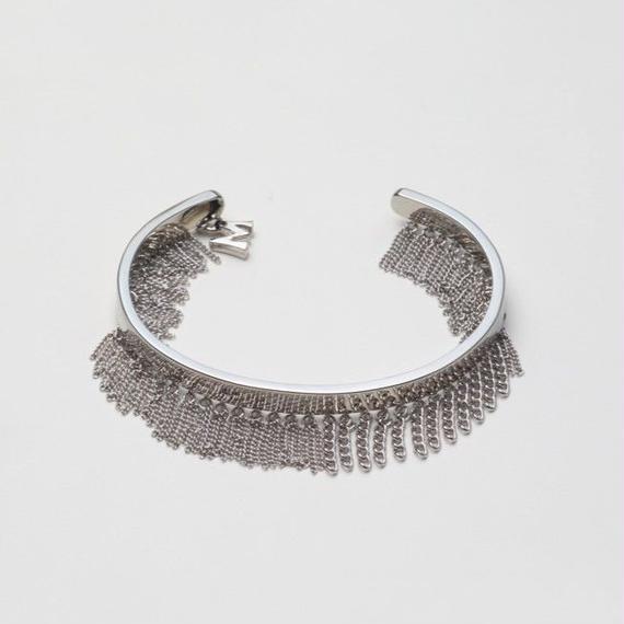 Fringe Bangle(10㎜/Silver)