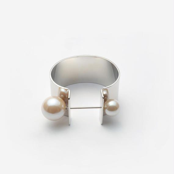 tiepin bangle (30mm / silver)