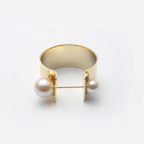tiepin bangle (30mm / gold)