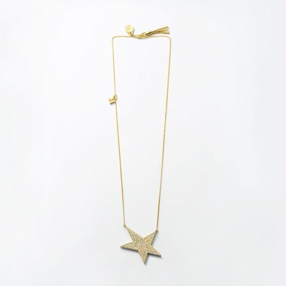 star necklace (pave)