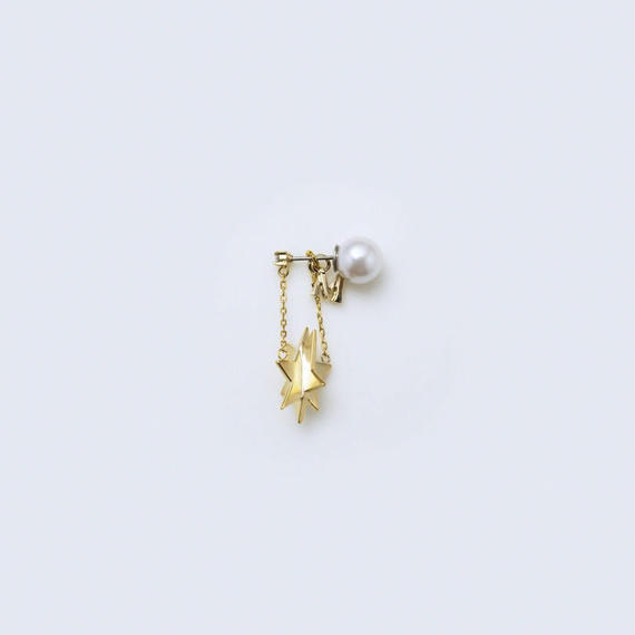 star pierce (cubic star / short / gold)