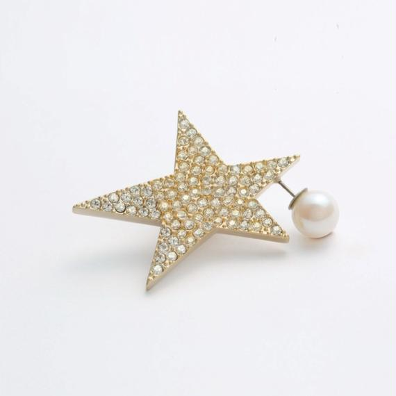 star pierce (reversible / large/ pave)