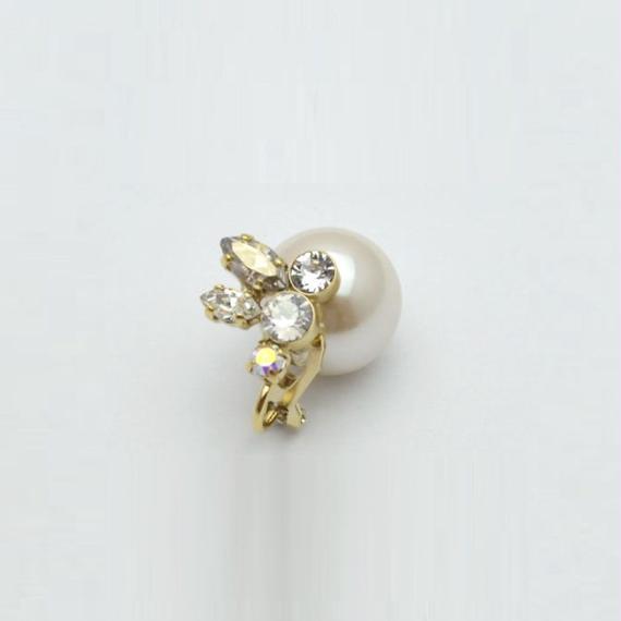 bijoux earring(crystal/small)