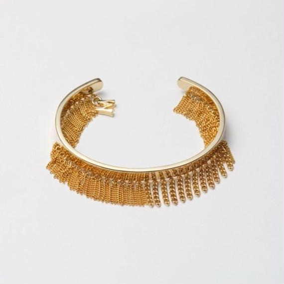 Fringe Bangle(10㎜/Gold)