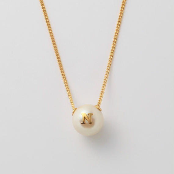 """Initial necklace """"N"""""""