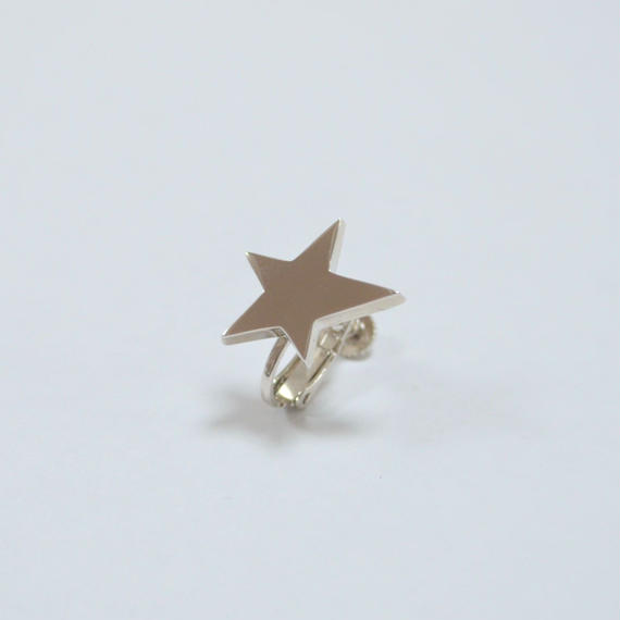 star earring ( small / silver )