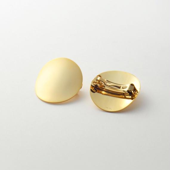 moon hair jewelry (40mm moon/ mat gold)