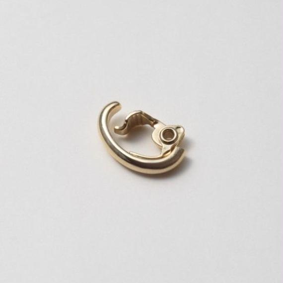 Gold line earring ( 17mm )