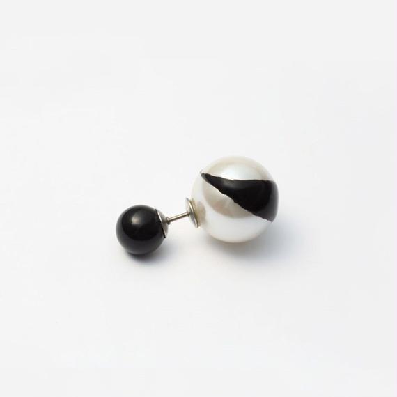 enamel paint pierce (black)