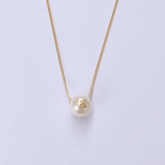"Inicial necklace ""H"""