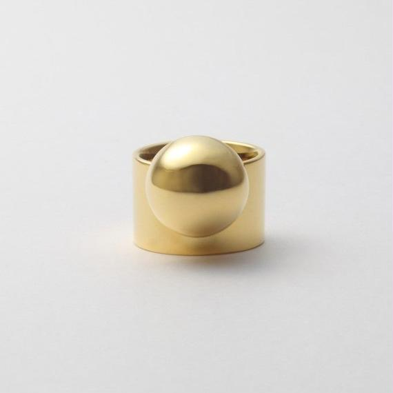 Hemisphere ring (gold)