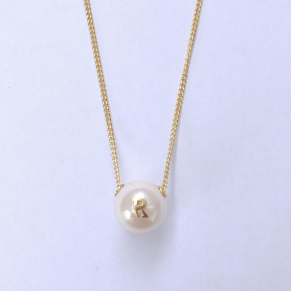 "Inicial necklace ""R"""