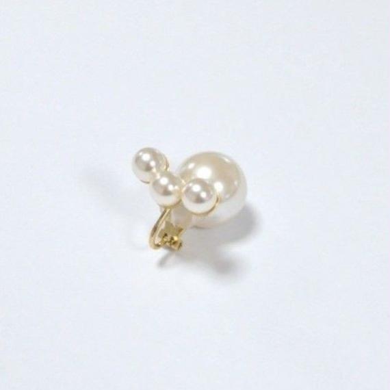 three pearl earring(large)