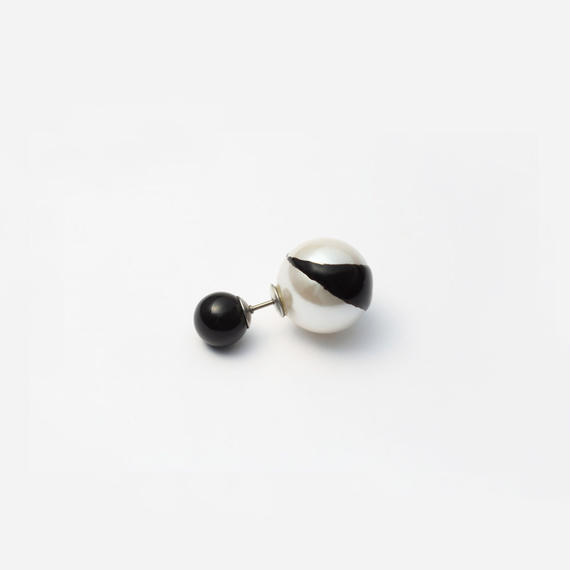 enamel paint pierce (black)