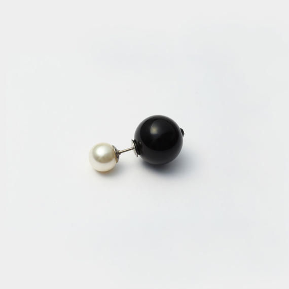 basic pearl rivets (8mm white pearl × 14mm black pearl)