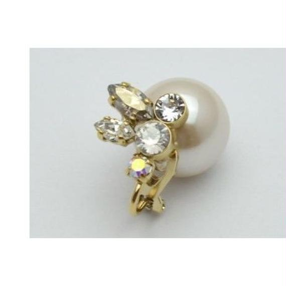 bijoux earing(crystal/small)