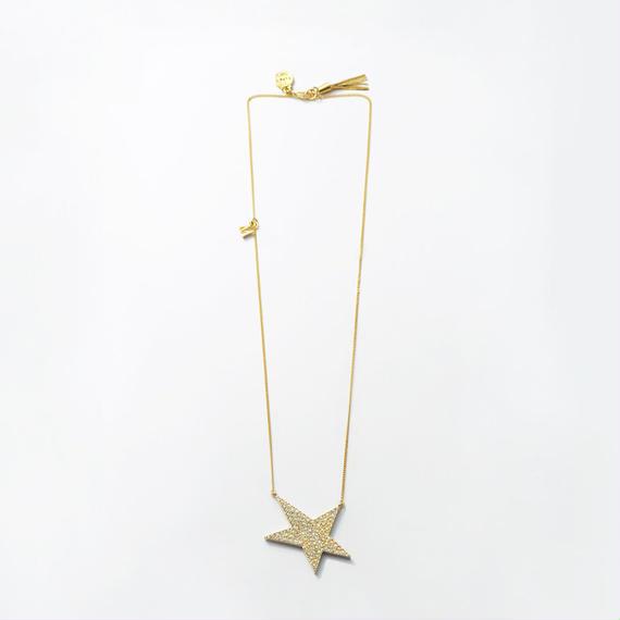star necklace (pave)