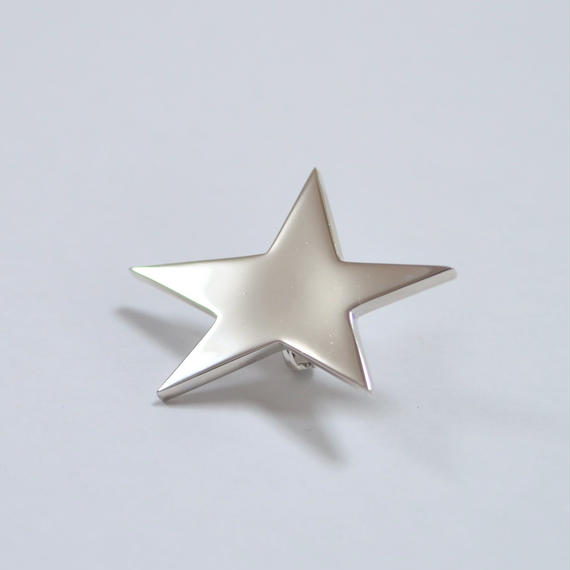 star earring ( large / silver )