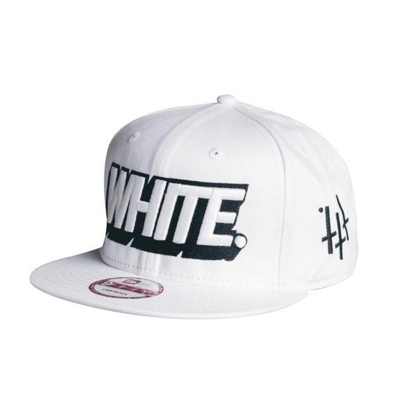 -3D LOGO- SNAP BACK CAP (WHT)