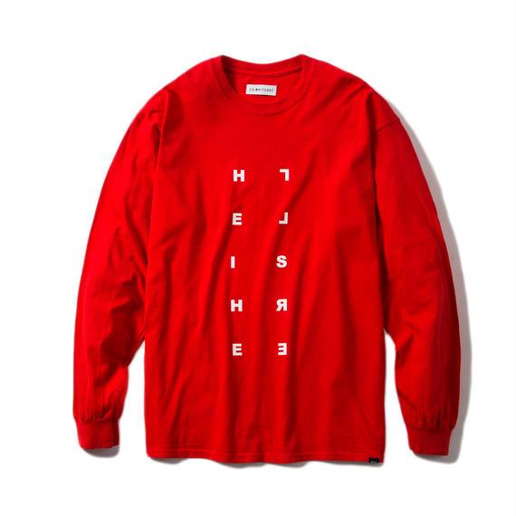 -REQUIEM- L/S TEE (RED)