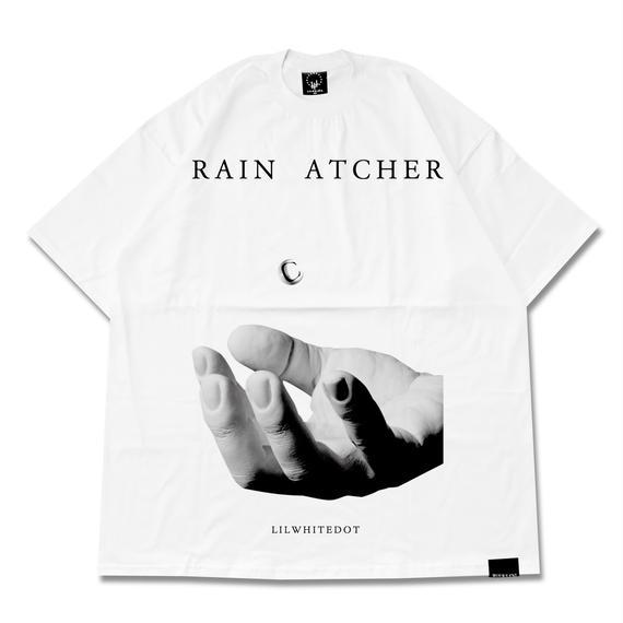 -RAINCATCHER-  EXTRA BIG Tee / WHT