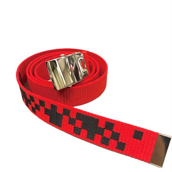 -DIVIDED- LONG BELT (RED)