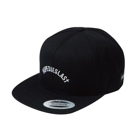 -ARCH- SNAP BACK CAP (BLK)