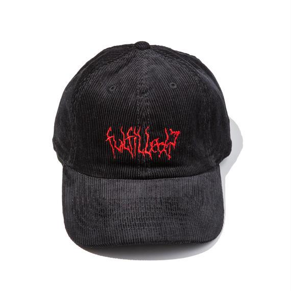 -VAIN- LOW CAP (BLK×RED)