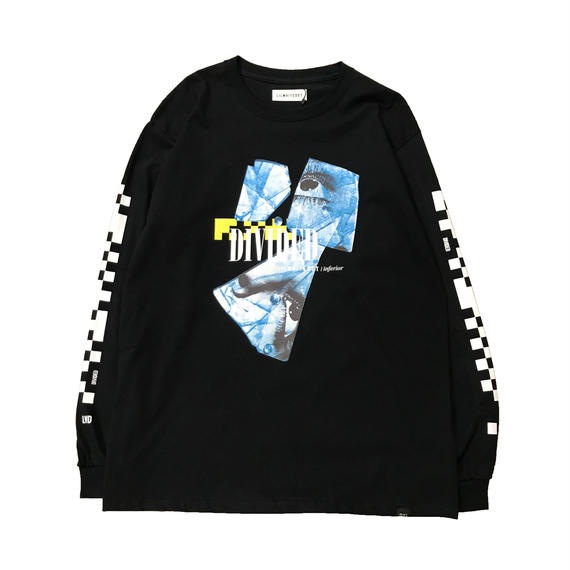 -DIVIDED- L/S TEE (BLK)