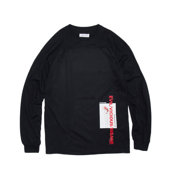 -MYTH- LONG SLEEVE TEE (BLK)