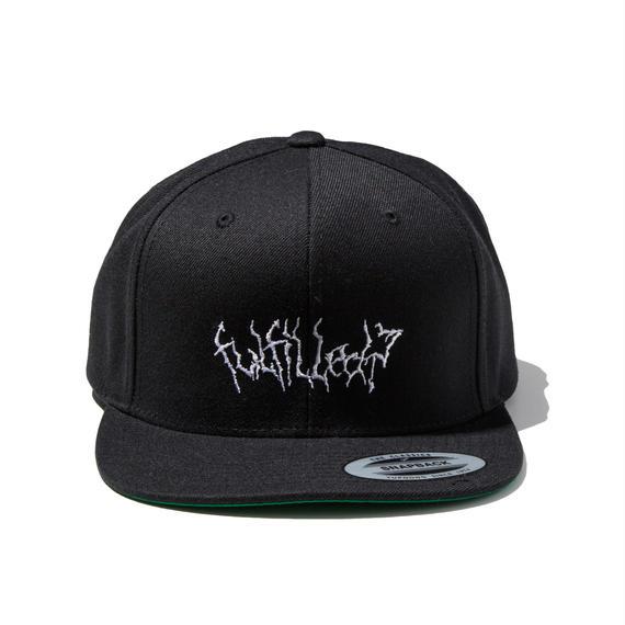-VAIN- SNAPBACK CAP (BLK×WHT)