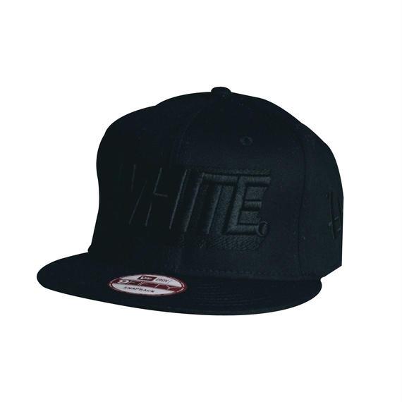 -3D LOGO- SNAP BACK CAP (BLKxBLK)