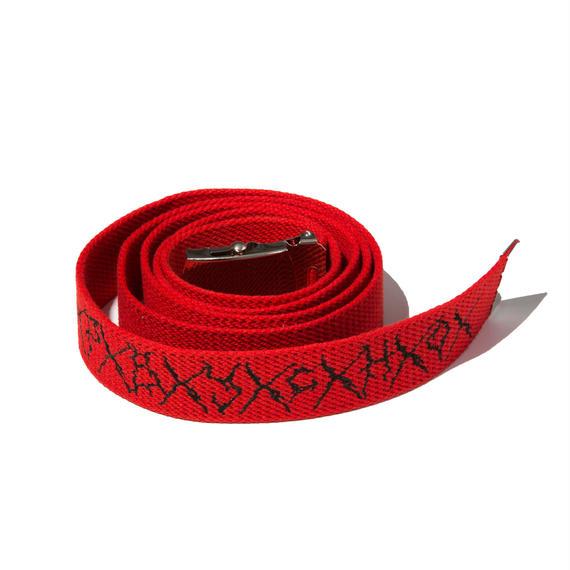 -PSYCHO- LONG BELT (RED)