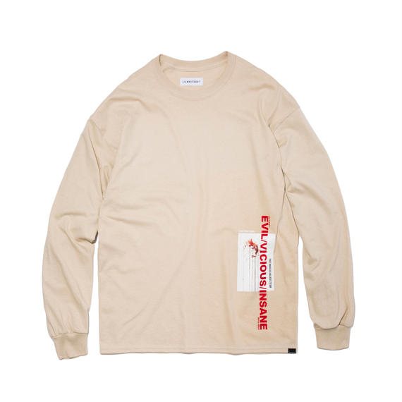 -MYTH- LONG SLEEVE TEE (SAND)