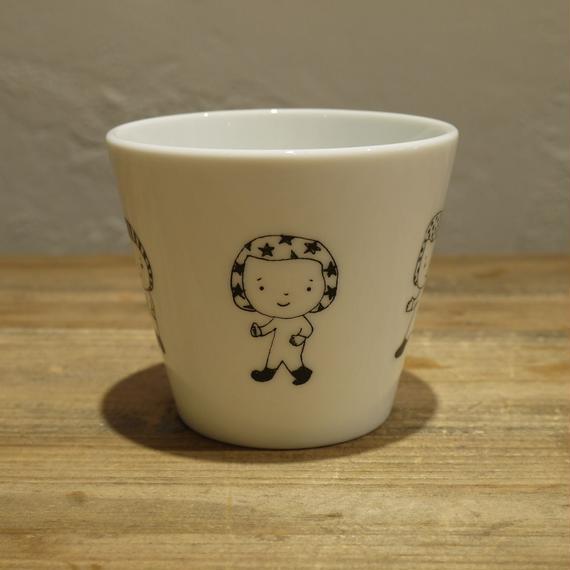 【tomopecco】〈ふろしき女の子〉フリーカップ