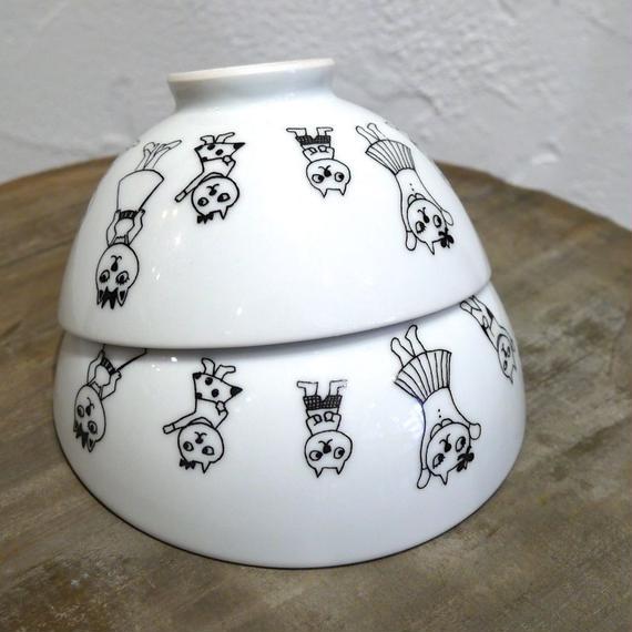 【tomopecco】〈ねこ〉お茶碗大・小