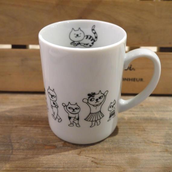 【tomopecco】〈ねこ〉マグカップ