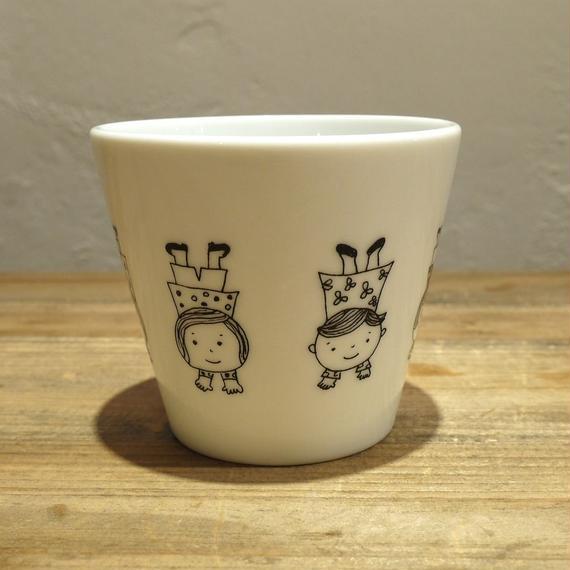 【tomopecco】〈逆立ち〉フリーカップ