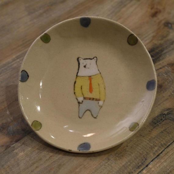【鈴木佳世さん】くま 小皿