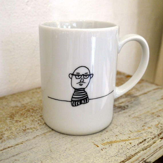 【tomopecco】〈おやじ〉 マグカップ