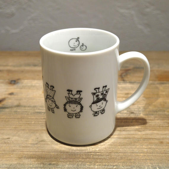【tomopecco】〈逆立ち〉マグカップ