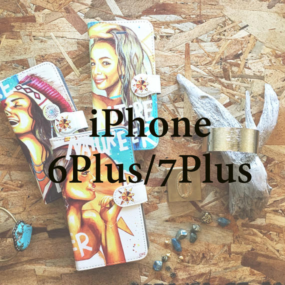 """ Nature lover series "" Wallet case・iPhone 6Plus/7Plus"